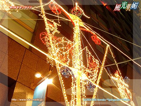 Shinjuku Southern lights